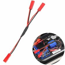 1/10 Power Supply Y Line Cable Adapter Connector For Traxxas TRX4 4WD Crawler RC