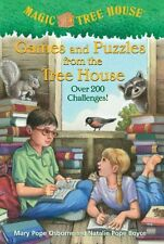 Games and Puzzles from the Tree House: Over 200 Challenges! (Magic Tree House) b