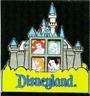 Disney Pin 24697 DLR Princesses Castle Slider Ariel Cinderella Aurora Snow White