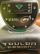 """New listing Odyssey Toulon Design Memphis Putter RH 35"""" - Mint plus Headcover and Extra Grip"""