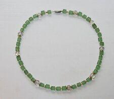 Designer Kette Verschluss Sterling Silber 925 Halskette Schmuck  41 cm Spacer