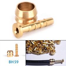2/5 pares BH59 bicicleta freno de disco hidráulico de la mangu*QA