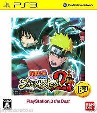 Used PS3 Naruto Shippuuden Narutimate 2 SONY PLAYSTATION 3 JAPAN JAPANESE IMPORT