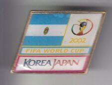 RARE PINS PIN'S ..  FOOTBALL SOCCER WORLD CUP KOREA 2002 FIFA ARGENTINE FLAG ~DV