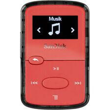 Sandisk Clip Jam 8gb MP3 Player 18hr Batterie Leicht MICROSD Kartenschlitz - Rot
