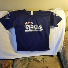 NEW ENGLAND PATRIOTS JERSEY - YOUTH MEDIUM - FRANKLIN - THROWBACK