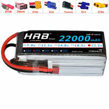 HRB 6S 22.2V 22000mAh 25C 50C Lipo Battery For DJI Drone Spreading Wing S1000