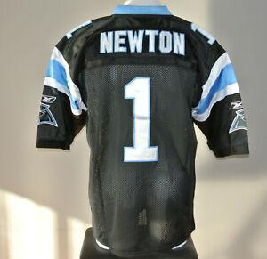 Carolina Panthers Cam Newton #1 NFL Reebok Football Jersey Mens 52 NWT NEW