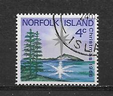 NORFOLK ISLAND , CHRISTMAS , 1966 , STAMP , PERF,  USED/CTO