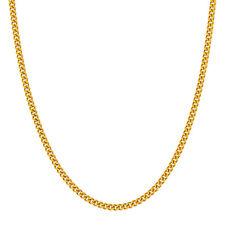 Kette in Gelbgold 585 / 8,6 g , Flachpanzermuster , Länge 60,5 cm