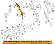 NISSAN OEM 16-18 Titan XD 5.0L-V8-Exhaust Pipe 14012EZ40C