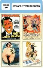 FICHE CINEMA :  GEORGES FEYDEAU AU CINEMA (Bio/Filmo) Dame de chez Maxim...