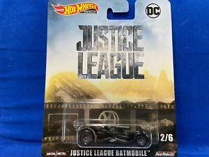 Hot Wheels Premium - Justice League - Batmobile