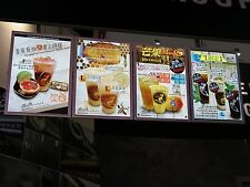Lightek LED Slim Lightbox - Menu Board, Store Sign - LEA2U  420x587x15mm