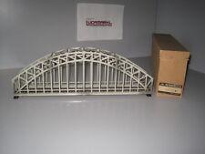 ** Märklin HO 467/2gr .2 gläzende graue Bogenbrücke mit Mittelschiene Marklin **