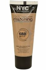 NYC New York Color Skin Matching Foundation with Adapting Technology 688 Medium