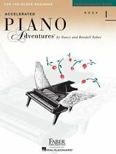 ACCELERATED PIANO ADVENTURE PERFORMANCE LEVEL 1 - PIANO METHOD BOOK 420229