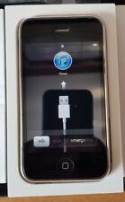 Apple iPhone 3G Negro 16GB * usado * En O2 actualizado a 4.2.1 15th de Julio de 2020
