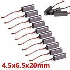 10 pcs Carbon Brushes Wire Leads Generator Brush For Generic Electric Motor