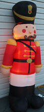 7' Nutcracker Toy Soldier Airblown Inflatable Lighted Christmas Yard Decor