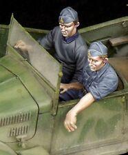 TB-35093 Italian driver & NCO for 508 CM Coloniale WW  1/35 resin kit - The Bodi