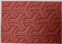 Big Y Pattern Unmounted RUBBER Texture Stamp Polymer PMC Clay Molding Mat