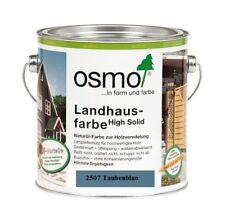 Osmo Landhausfarbe HS 2507 Taubenblau 750 ml