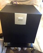 Pioneer S-W90S Active Subwoofer with QED QUNEX P75 Digital Coaxial cable