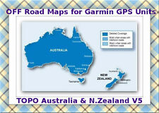 Garmin Australia & New Zealand Topo Map V5  2016 on Micro SD Card
