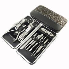 EG _ 12 pièces / set manucure pédicure Coupe-ongles Ciseaux Kit Pansement