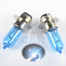 2x 35W Super White Xenon Headlight Bulbs For 2011 Yamaha Rhino 700 FI 4x4 SE ATV