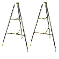 """2 Pack 5' Tripod Antenna Roof Mount to 2"""" Mast Pole Satellite TV 5 Foot SKY6046"""