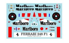 F1 DECALS MUSEUM COLLECTION D373 1/18 FOR FERRARI 248 F1 2006