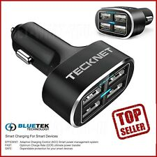 Universal 4 Port In Car Phone Battery Charger Multi Travel USB Iphone & Samsung