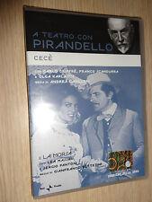 DVD A TEATRO CON LUIGI PIRANDELLO CECE' E LA MORSA GIUFFRE' MASSARI FANTONI