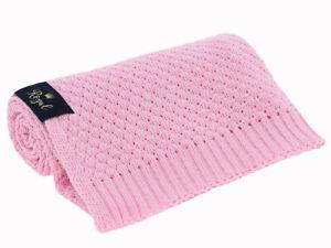 Babydecke Kuscheldecke Decke Wagendecke Strickdecke weich und warm Fell Wolle