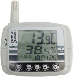 AZ8808 Wall-mounted Digital Temperature & Humidity Data Logger Monitor Recorder