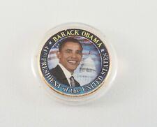 Barack Obama Colorized US Kennedy Half Dollar - 44th President