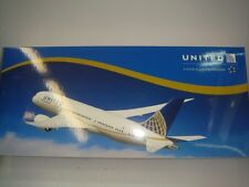 """Aero le Plane 200 United Airlines UA B787-800 """"2010s Delivery color"""" 1:200 Resin"""