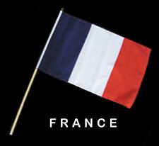 FRANCE FRENCH Hand Waver Flag - 30x45cm