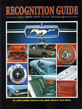 Mustang Recognition Guide - for 1965-1973 Ford Mustangs - Cobra Shelby Boss GT