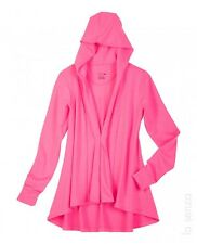 La Senza Mini French Terry Hoodie Robe Pink Ladies Size Small-Medium Box1027 a