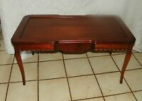 Ribbon Mahogany Carved Coffee Table  (CT74)