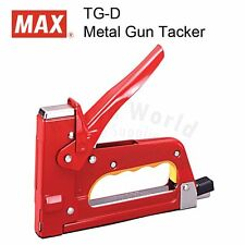 MAX TG-D DIY Heavy Duty Gun Tacker Industrial Heavy Duty Stapler, MADE IN JAPAN