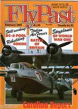 Flypast 1989 February Luscombe,Tiger Moth,Catalina,Soko,DC-5