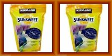 2X Kirkland 56 oz ea Sunsweet Dried Plums Pitted Prunes Fiber KOSHER FAT FREE