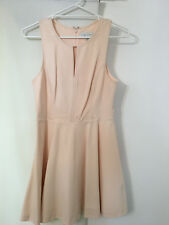 Forever New Lucy Panelled Bodice Skater Dress in Apricot Size 12