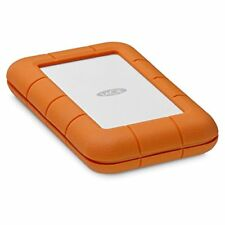 LaCie Rugged 2TB Thunderbolt USB-C Portable Hard Drive (STFS2000800)