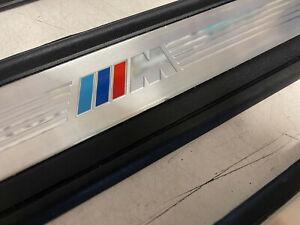 BMW M SPORT ENTRY SCUFF PLATES SET E90 E91 323i 328i 330i 335i Xi SEDAN WAGON