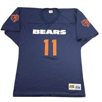 Vintage Chicago Bears Majestic Nylon Jersey Mens Size Large NFL Football #11 USA